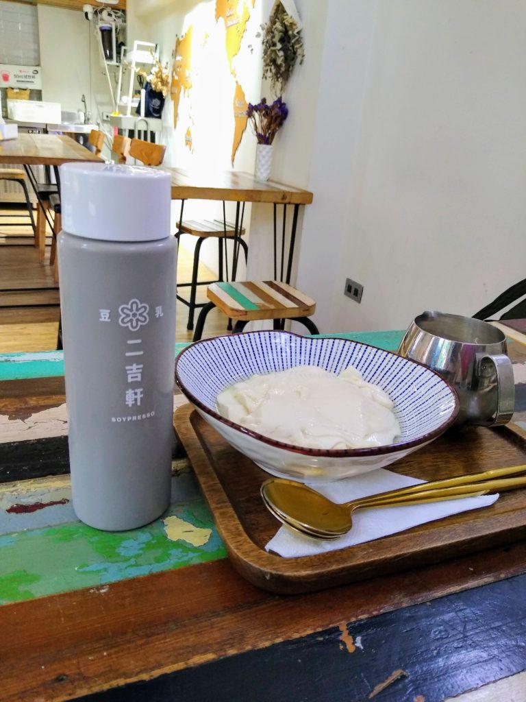 豆花、豆乳、台湾、二吉軒、soypresso、バオバブグルト、バオバブ、豆乳ヨーグルト